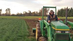 jonah on tractor